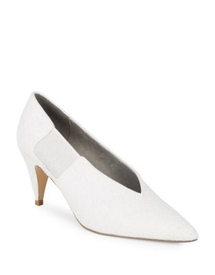 Florence Faux Leather Pumps by Free People