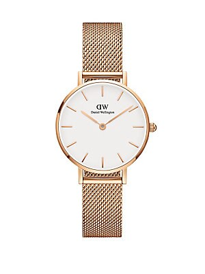 0259072af89 Daniel Wellington - Classic Petite Melrose Rose Goldtone and Mesh Strap  Watch, 28mm - lordandtaylor.com