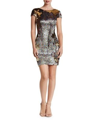 Tabitha Sequined Bodycon Dress by Dress The Population