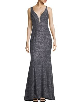 Sleeveless Floor-Length Gown by Xscape