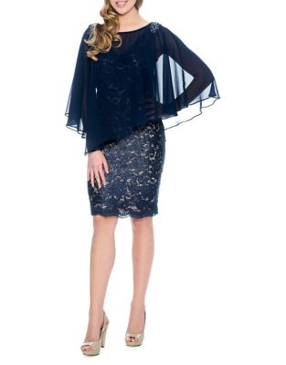 Floral Lace Sheath Dress by Decode 1.8