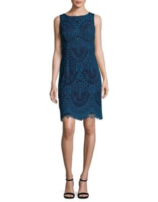 Chemical Lace Sheath Dress by Chetta B
