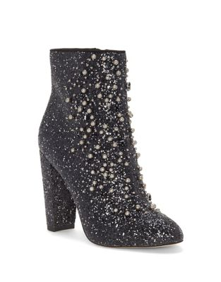 Starlite Embellished Booties by Jessica Simpson