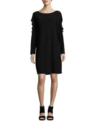 Ruffle Sleeve Dress by Ivanka Trump