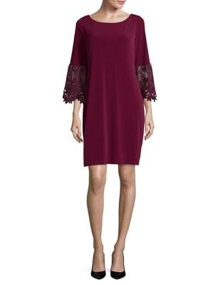 Three-Quarter Sleeve Dress by Ivanka Trump