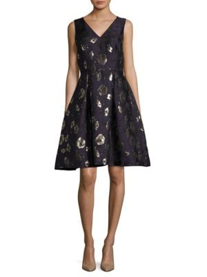 Floral Fit-&-Flare Dress by Ivanka Trump