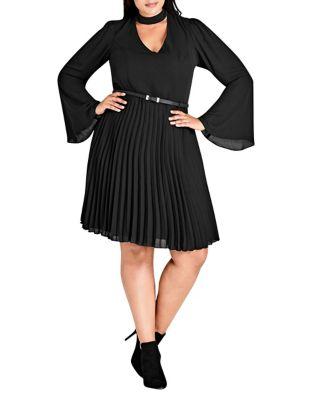 Plus Praise Me Dress by City Chic