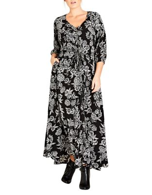 Plus Bloomsbury Maxi Dress by City Chic