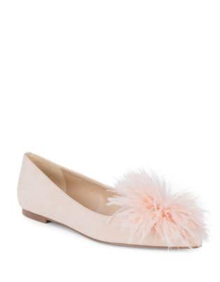 Reina Suede Ballet Flats...