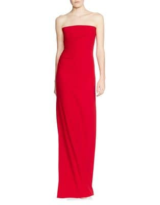 Strapless Floor-Length Gown by Halston Heritage
