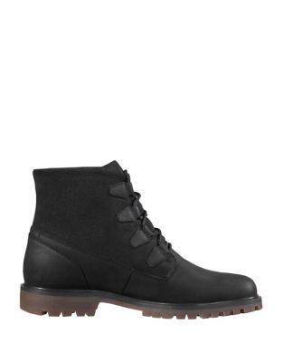 Cordova Waterproof Suede Winter Boots by Helly Hansen