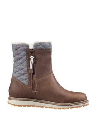 Seraphina Faux Fur-Trimmed Waterproof Winter Boots by Helly Hansen