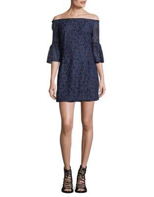 Off-the-Shoulder Lace Dress by BB Dakota