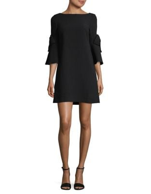 Bell Sleeve Shift Dress by Eliza J