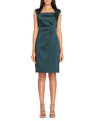 Petite Pleated Sheath Dress by Calvin Klein