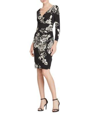 Petite Wrap Dress by Lauren Ralph Lauren