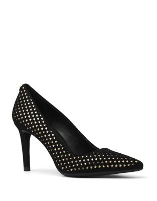 Dorothy Star Leather Pumps by MICHAEL MICHAEL KORS