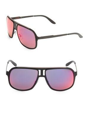Image of 59MM Carrera 101 Aviator Sunglasses