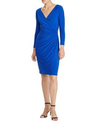Jersey Sheath Dress by Lauren Ralph Lauren