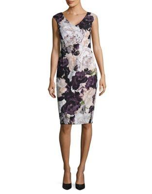 Printed Sleeveless Dress by Ivanka Trump