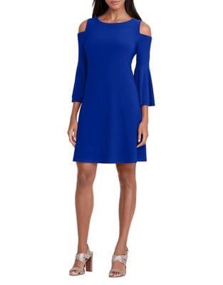 Cold-Shoulder Dress by Vince Camuto Plus