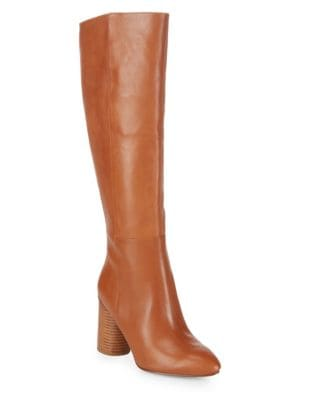 Leather Knee-High Boots by Nine West