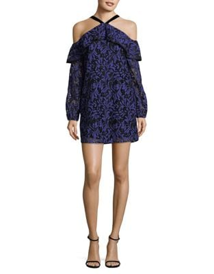 Guipure Lace Cold-Shoulder Dress by Wayf