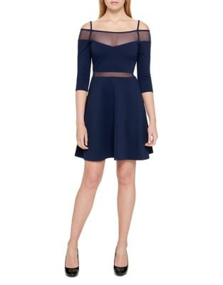 Cold Shoulder Dress by Guess
