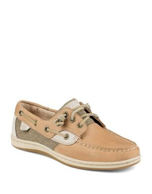 Adjustable Leather Loafers by Sperry