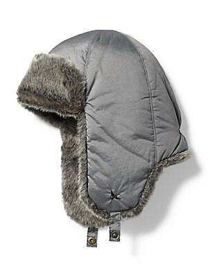 f6d64f0061929 Eddie Bauer - Yukon Faux Fur-Trimmed Down Trapper Hat - lordandtaylor.com