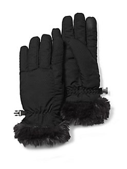 a8bbf9ad8d0f0 Product image. QUICK VIEW. Eddie Bauer. Sun Valley Faux Fur Trimmed Gloves