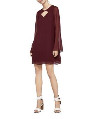 Cutout Roundneck Shift Dress by BCBGeneration