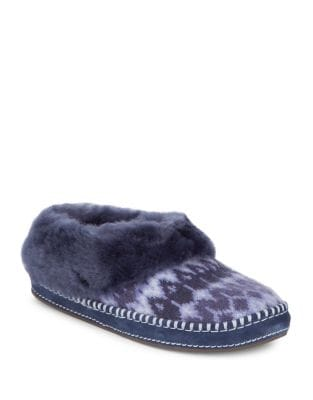 Rince Fur-Trimmed Slippers by UGG