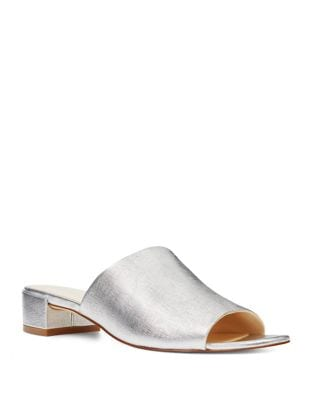 Raissa Metallic Mules by Nine West