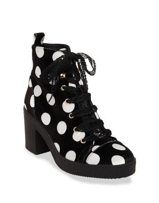 Tilde Printed Booties by Betsey Johnson