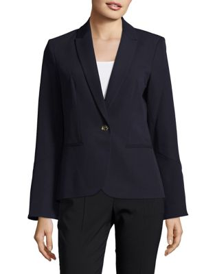 Bell-Sleeve Suit Jacket...