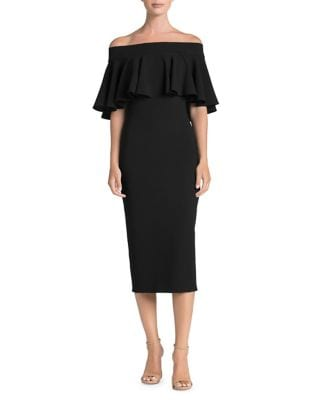 Maggie Off-The-Shoulder Bodycon Dress by Dress The Population