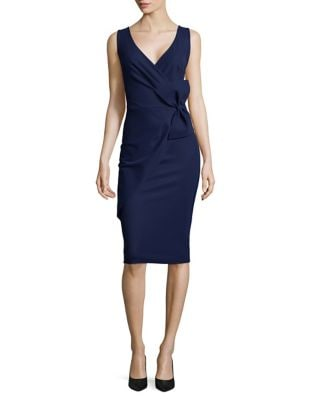 Bow Applique Bodycon Dress by Chiara Boni La Petite Robe