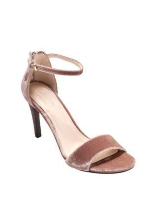 Clara Grand Velvet Stiletto Sandals by Cole Haan