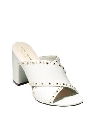 Gabby Leather Stud Sandals by Cole Haan