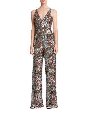 Charlie Sequined Jumpsuit by Dress The Population