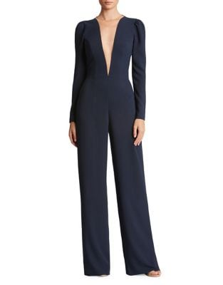 Drew Plunging Jumpsuit by Dress The Population