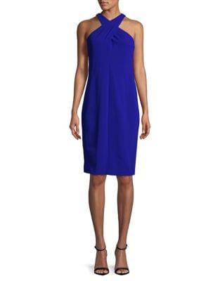 Crisscross Sheath Dress by Lauren Ralph Lauren