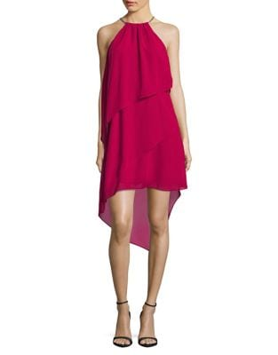 Tiered Hi-Lo Dress by Laundry by Shelli Segal