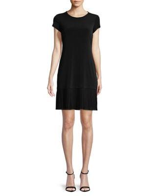 Solid Pleated Dress by Lauren Ralph Lauren
