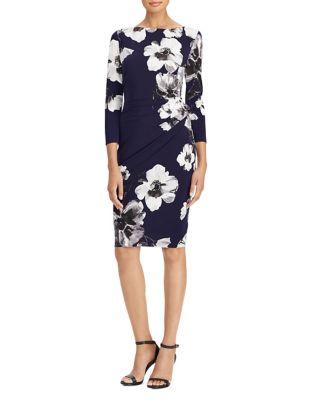 Floral Stretch Jersey Bodycon Dress by Lauren Ralph Lauren