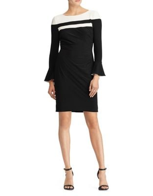 Colorblock Bodycon Dress by Chiara Boni La Petite Robe