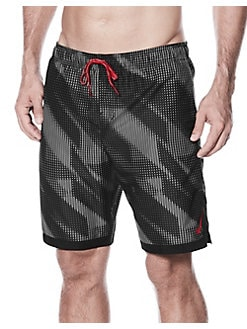 Printed Swim Trunks OBSIDIAN. Product image