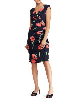 Floral-Print Sheath Dress by Lauren Ralph Lauren