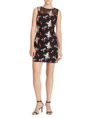 Melia Floral Sheath Dress by Lauren Ralph Lauren